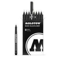 Molotow Basic Blackliner Complete Set