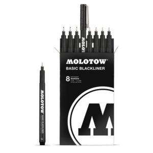 Molotow Basic Blackliner Complete Set